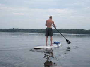 Chris Paddleboarding 3