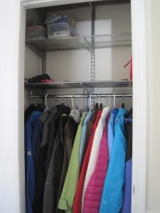 Elfa - After Hall Closet